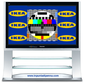 IKEA tv plasma screen