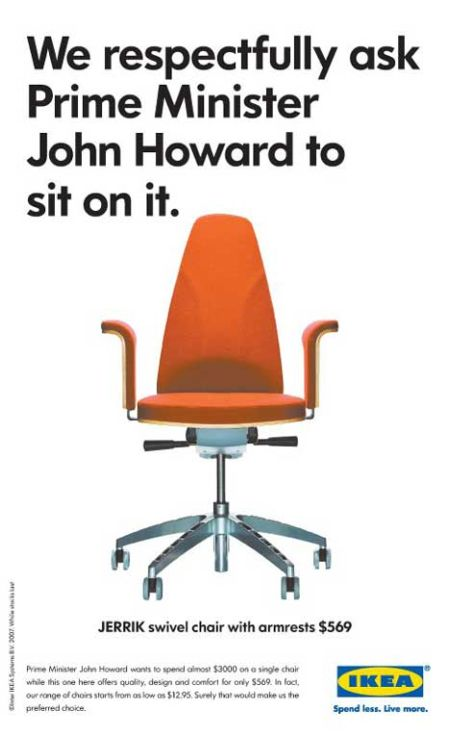 A Jerrik [569 $] for John Howard
